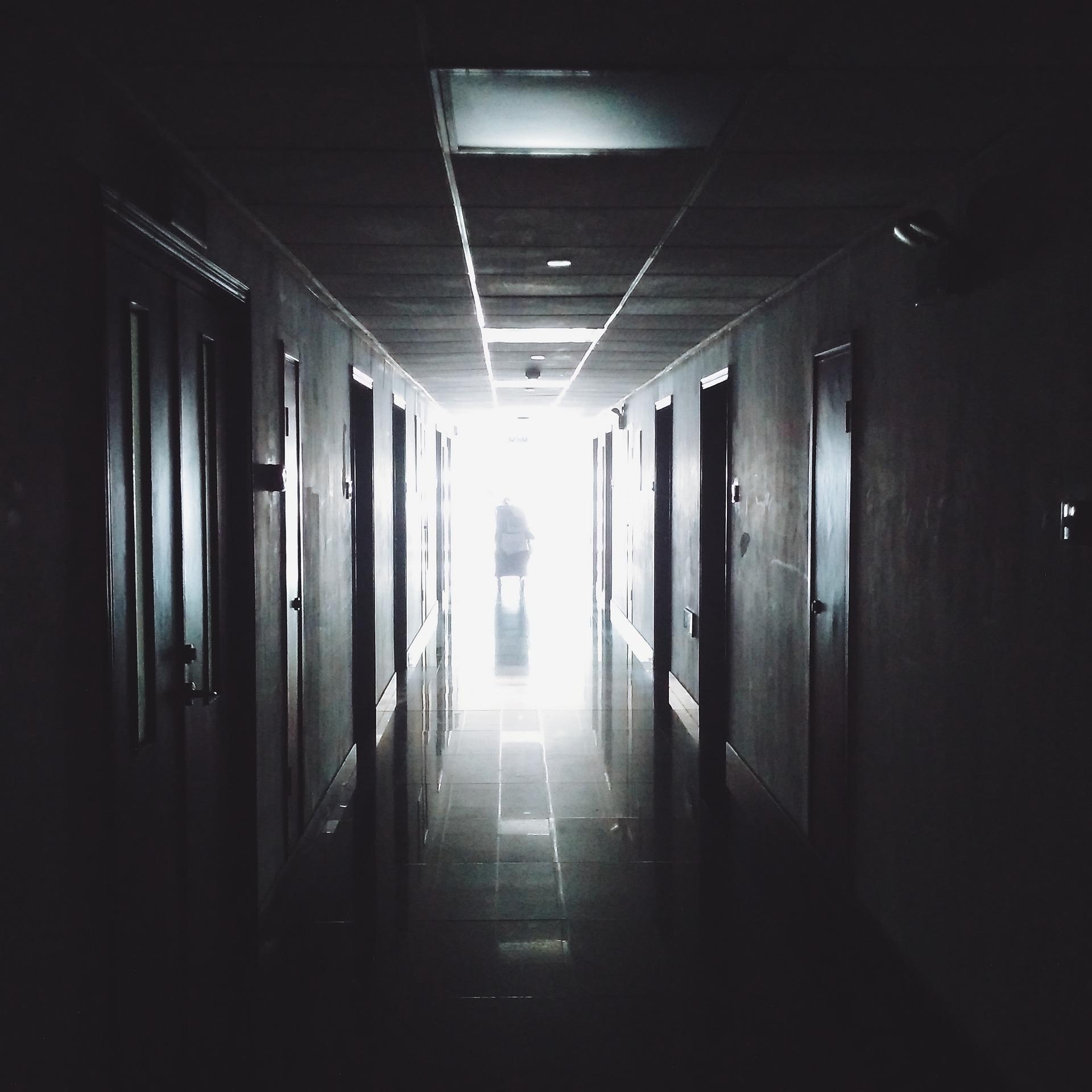 Flur Krankenhaus